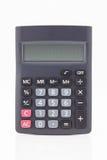 Czarny kalkulator Fotografia Stock