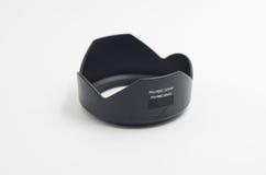 Czarny kamera obiektywu kapiszon Obraz Stock