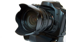 czarny kamery cyfrowy obiektywu fotografii piksel Zdjęcia Royalty Free