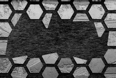 Czarny kamienny background/3d odpłaca się Royalty Ilustracja