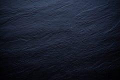 Czarny Kamienny Tło Zdjęcia Stock