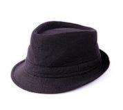 Czarny kapelusz Zdjęcia Royalty Free