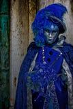 czarny karnawałowy dekoracyjny maskowy masque Venice Zdjęcie Royalty Free