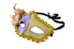 czarny karnawałowy dekoracyjny maskowy masque Venice Obrazy Royalty Free