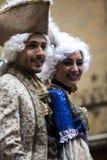 czarny karnawałowy dekoracyjny maskowy masque Venice Obraz Royalty Free