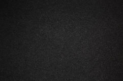 Czarny karton z białymi małymi niciami struktura Fotografia Royalty Free
