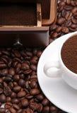czarny kawa Fotografia Stock