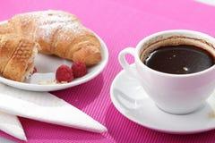 czarny kawa Fotografia Royalty Free
