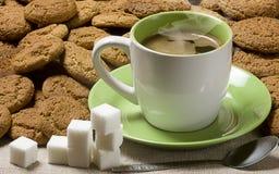 czarny kawa Zdjęcia Stock