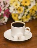czarny kawa Zdjęcia Royalty Free