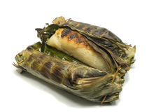 Czarny kleisty Rice z kokosowym mlekiem i taro Antyczny deser Tajlandia Słodki i wyśmienicie smak Robić kleiści ryż, Obrazy Royalty Free