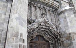 Czarny kościół Brasov Rumunia 2 Fotografia Royalty Free