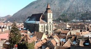 czarny kościoła Zdjęcie Royalty Free