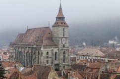 czarny kościoła obrazy royalty free