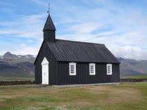 czarny kościoła Fotografia Stock