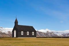 czarny kościoła Obrazy Stock