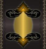 czarny kolor żółty Obrazy Royalty Free