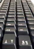 czarny komputerowa klawiatura Zdjęcia Stock