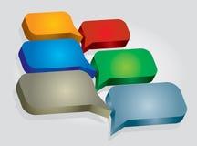 czarny komunikacji koncepcji odbiorców telefon Obraz Royalty Free
