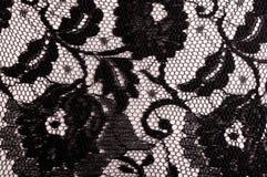 czarny koronka Obraz Stock