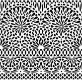 Koronkowy bezszwowy wzór Zdjęcia Stock