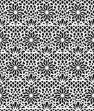 Koronkowy bezszwowy wzór Obraz Stock