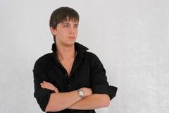 czarny koszulę Fotografia Stock