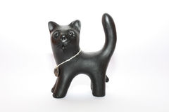 czarny kot Zdjęcie Stock