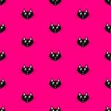 czarny kot ilustracji