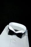 czarny krawat Fotografia Royalty Free