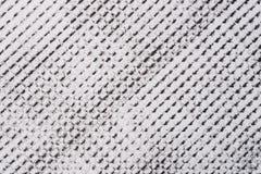 Czarny kredka wzór na białego papieru tła teksturze fotografia royalty free