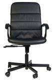 czarny krzesło skóry urzędu Zdjęcie Royalty Free