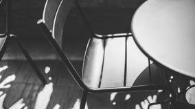 czarny krzesło Zdjęcia Stock