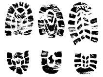 czarny krzyże ustawiający znaczki Zdjęcia Royalty Free