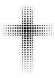 czarny krzyż ilustracji