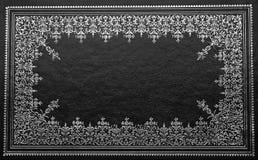 czarny książkowa pokrywa Obraz Royalty Free