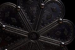 Czarny kwiatu amulet Obraz Stock