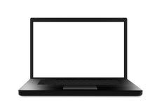 Czarny laptop - XL Zdjęcia Stock