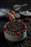 czarny las ciasta Obrazy Stock