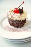 czarny las ciasta obrazy royalty free