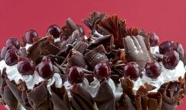 czarny las ciasta Fotografia Royalty Free