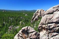 czarny lasu wzgórza krajowi Obraz Royalty Free