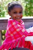 czarny śliczna dziewczyna Fotografia Stock