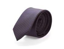 Czarny męski krawat Zdjęcie Royalty Free