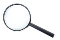 czarny magnifier Obraz Stock