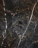 czarny marmur Fotografia Stock