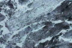 Czarny marmur Zdjęcie Royalty Free