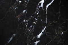 Czarny marmur Obraz Royalty Free