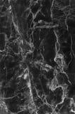 Czarny marmur deseniował tekstury tło (naturalnych wzorów) Zdjęcia Stock