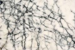 czarny marmurowy white Obraz Royalty Free